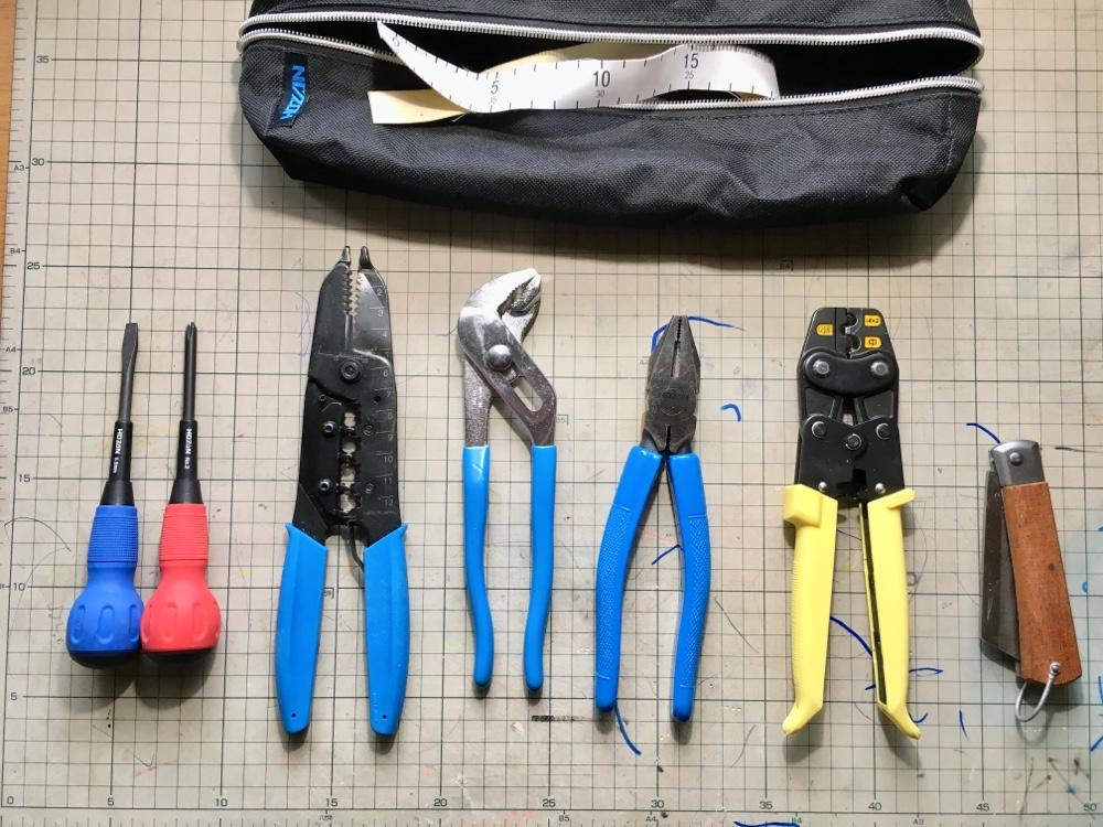 HOZAN電気工事士技能試験用工具セット DK-28