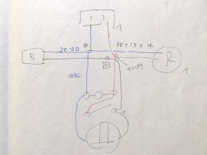 第二種電気工事士 平成30年上期 実技試験で書いた複線図 Np.10