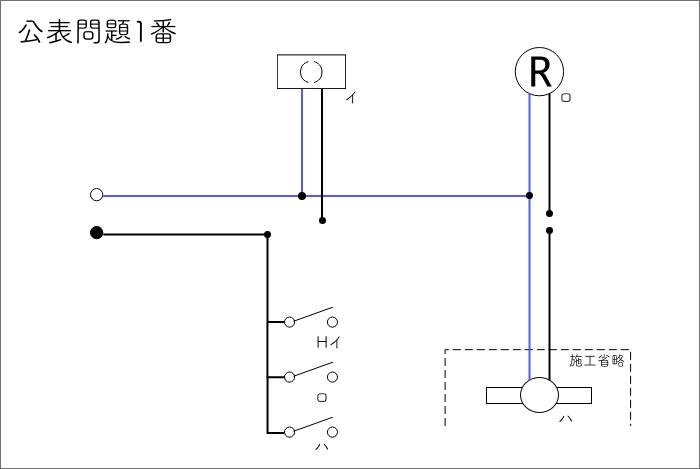 公表問題01 問題 複線図3